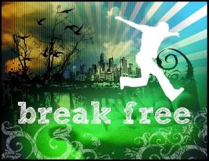 break free logo