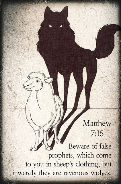 Scripture Wolf In Sheep S Clothing
